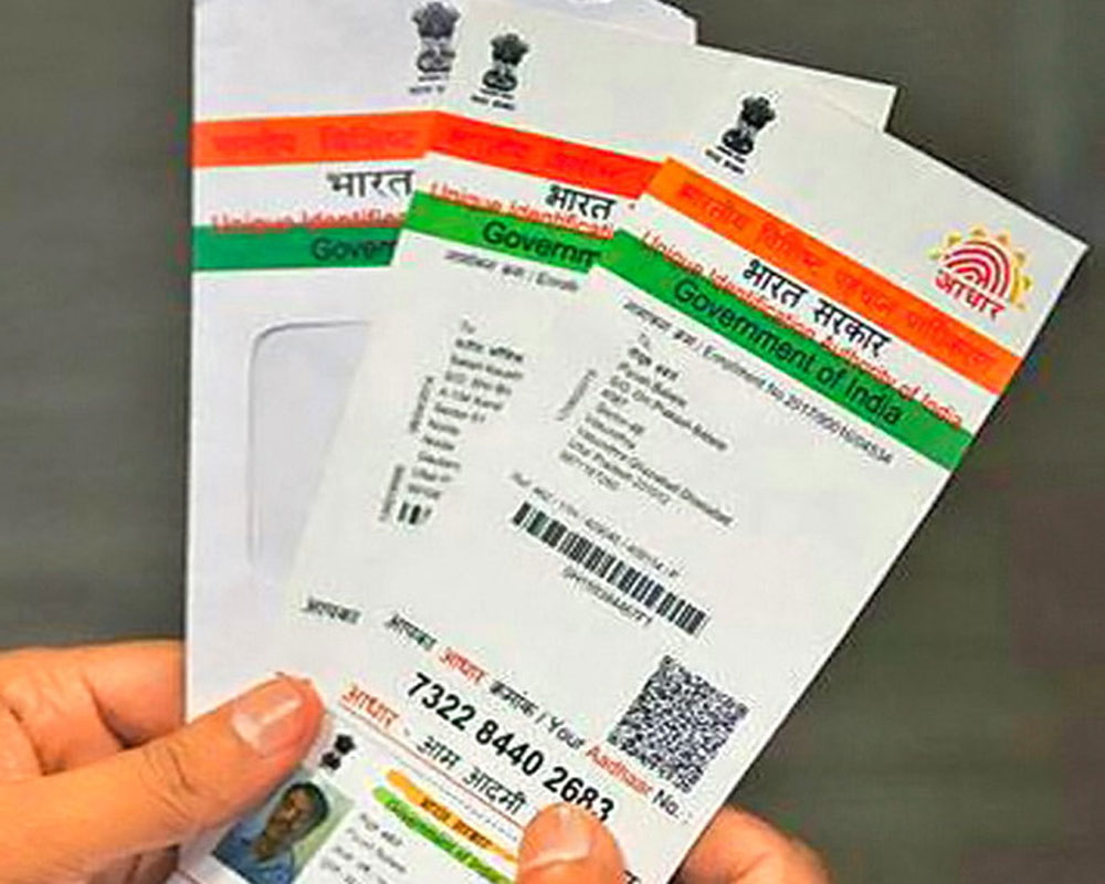 aadhar card download and printout